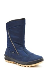 Blondo Iceland Waterproof Snow Boot Women Blue