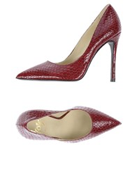 Icone Pumps Garnet