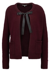 Mintandberry Cardigan Windsor Wine Dark Red