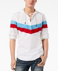 Inc International Concepts I.N.C. Men's Allan Shirt Created For Macy's White Pure