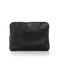 3.1 Phillip Lim 31 Min Leather Cosmetic Bag White Black