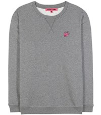 Mcq By Alexander Mcqueen Cotton Blend Sweatshirt Grey