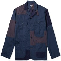 Engineered Garments Logger Flat Twill Jacket Blue