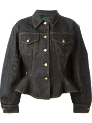 Jean Paul Gaultier Vintage 'Junior Gaultier' Denim Jacket Black