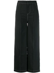 Jovonna Lileth Cropped Trousers Black
