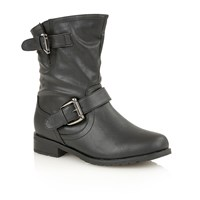 Lotus Barberry Ankle Boots Black