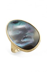 Marco Bicego Women's Lunaria Mother Of Pearl Ring