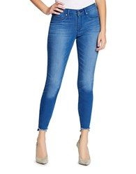 Jessica Simpson Kiss Me Ankle Length Jeans Blue