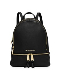 Michael Michael Kors Rhea Small Zip Backpack Black
