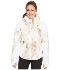 Spyder Panorama Jacket White Alchemy Print White Alchemy Print White Coat