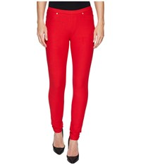 Michael Michael Kors Pull On Leggings True Red Women's Clothing