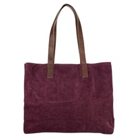 East Corduroy Hobo Bag Raisin