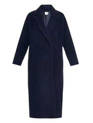 Mih Jeans Tomboy Textured Wool Blend Coat