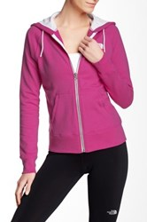 The North Face Lightweight Full Zip Hoodie Pink