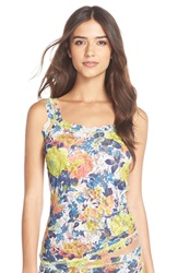 Hanky Panky 'Garden' Chic Camisole Green Floral Multi
