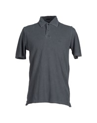 Pirelli Pzero Topwear Polo Shirts Men Grey