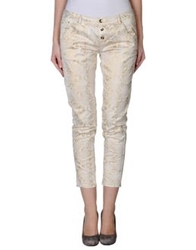 Motel Casual Pants Ivory