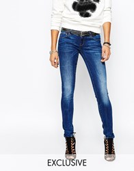 G Star Be Raw 3301 A Low Super Skinny Jeans Blue