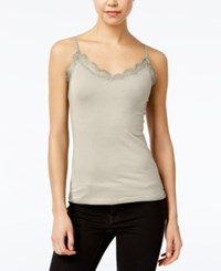 Planet Gold Juniors' Spaghetti Strap Tank Top Ashes Of Rose