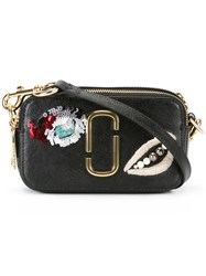 Marc Jacobs Vintage Collage Snapshot Crossbody Bag Black