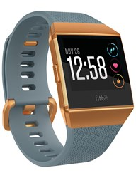 Fitbit Ionic Fitness Smartwatch Slate Blue Orange