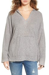 Pst By Project Social T Women's Fleece V Neck Hoodie