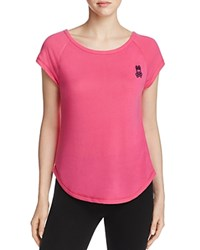 Psycho Bunny Luxe High Low Tee Bouy Pink