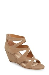Isola 'S Filisha Wedge Sandal Barley Suede