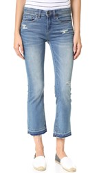 Blank Released Hem Cropped Jeans Tap Out