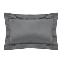 Pratesi Tre Righe Lame Pillowcase 50X75cm Platinum