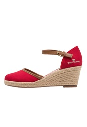 Tom Tailor Wedges Red