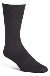 Men's Michael Toschi Cotton Blend Socks Black