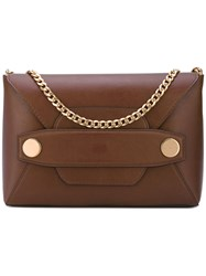 Stella Mccartney Alter Nappa Clutch Bag Women Artificial Leather One Size Brown