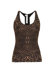The Upside Lilly Performance Leopard Print Tank Top