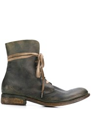 A Diciannoveventitre Wild Military Boots Green