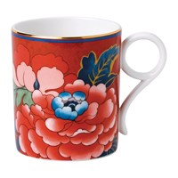 Wedgwood Paeonia Mug Red