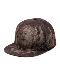 Shroud Of Turin Flat Bill Hat Black Women's Givenchy