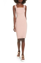 Soprano Body Con Dress Blush