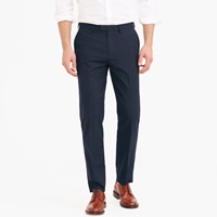 J.Crew Bowery Classic Pant In Ticking Stripe Cotton