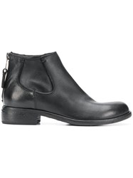 Strategia Low Ankle Boots Black