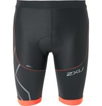 2Xu Compression Tri Stretch Jersey Triathlon Shorts Black