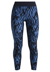 Casall Tights Outer Space Blue