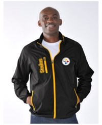 G3 Sports Men's Pittsburgh Steelers Game Plan Lightweight Jacket Black