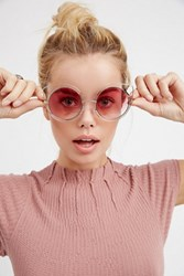 Free People Womens Cool Cat Wire Frame Sunni