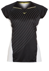 Mizuno Sports Shirt Black