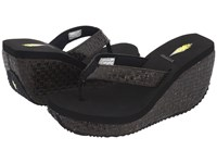 Volatile Cha Ching Black Women's Sandals