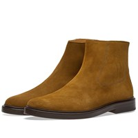 A.P.C. Leonard Chelsea Boot Brown