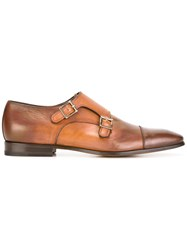 Santoni Monk Shoes Brown