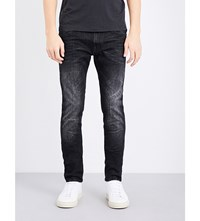 Replay Jondrill Slim Fit Skinny Jeans Black