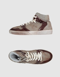 Keep High Top Sneakers Grey